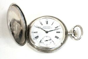 LONGINES SILVER 900 POCKET WATCH  FROM 1900