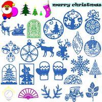 frohe weihnachten stanzformen in einer schablone scrapbooking karten zu