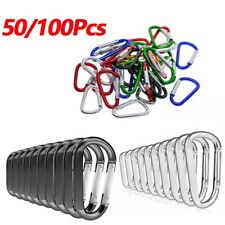 Aluminum Alloy Buckles Climbing Carabiner Hanging Keychain Link Backpack Strap