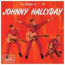CD JOHNNY HALLYDAY - Le Disque d'or
