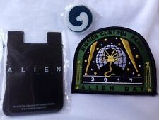 Alien day Embroidered Patch Iron / Sew-On Applique