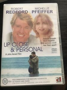 Up Close And Personal (DVD, 2003) Region 4 Rare