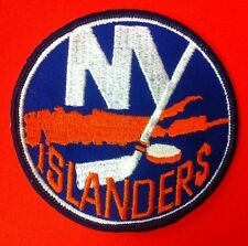 "New York Islanders NHL Logo / Crest Patch 4.5"" Inch Iron On / Sew On Patches"