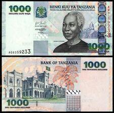 TANZANIA 1000 SHILINGI ND (2003) ERROR P36 UNCIRCULATED