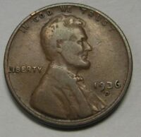 1936-D Lincoln Wheat Cent in the VG to FINE Range Priced Right FREE S&H