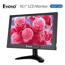 "EYOYO 10"" IPS HD 1920x1200 Video Audio HDMI Monitor für CCTV DVD PC 16:10 DC12V"