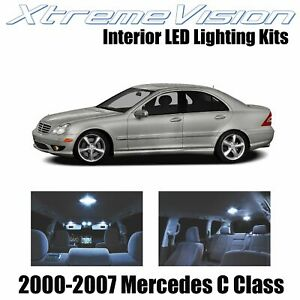 XtremeVision Interior LED for Mercedes C Class 2000-2007 (14 PCS) Cool White