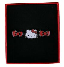 New Hello Kitty Bow and Head 2 Finger Ring SANR0027 in Box