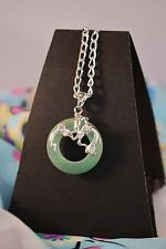 AVENTURINE PENDANT WITH MYTHOLOGICAL SERPENT SYMBOL [26/1/3]