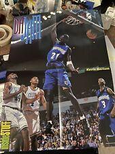 Vintage Inside Stuff Poster Damon Stoudamire Kevin Garnett Toronto Raptors Minne