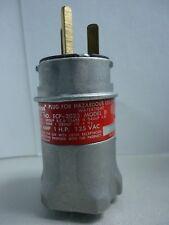 New Appleton ECP-2023 Aluminum 20 Amp Hazardous Location Plug