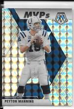 2020 Peyton Manning Mosaic MVP's Silver Mosaic Prizm Parallel, Card #299 Colts.