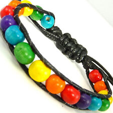 Pulseras de bisutería brazaletes color principal multicolor
