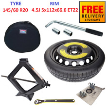 Space Saver Spare Tyre & Wheel R20 with full package for MERCEDES GLC 2015-2020