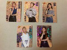 Itzy YeJi RyuJin Lia ChaeRyeong YuNa total 5 Card
