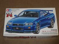 Tamiya 1/24 Nissan Skyline GT-R (R34) - V.spec II kit TA-24258 (New)