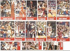 89-90 Syracuse University Orange Team Set Basketball Cards (15) Boeheim Coleman