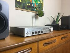 SONY TA-F35 Stereo Amplifier & MM/MC Phono Stage Vintage/Retro Silver Hifi Amp