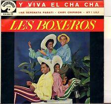 "LOS BOXEROS ""Y VIVA EL CHA CHA"" LATIN 60'S EP PALETTE 226004"