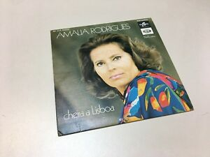 "Amalia Rodrigues 45 RPM Extended Play Vinyl ""Cheira a Lisboa"" 1972"