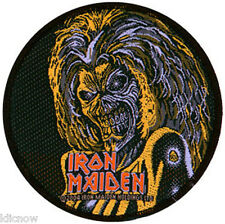"IRON MAIDEN KILLERS (CIRCLE) PATCH 9CM DIA (3 1/2"")"