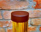 Copri palo per recinzioni tappo copripalo cappuccio in plastica marrone  <br/> ⭐⭐⭐⭐⭐Soddisfazione dei clienti ✔️Spedizione fissa 6,9 €