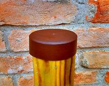 Coperchio per pali in legno cappuccio di protezione in polietilene pali tondi