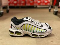 Nike Air Max Tailwind IV Mens Running Shoes White/Volt/Black AQ2567-100 Size 9.5
