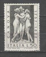 S37690 Italy MNH 1972 Canova 1v