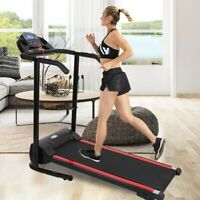 1100W Folding Treadmill Electric Motorized Power Running Jogging Fitness Machine