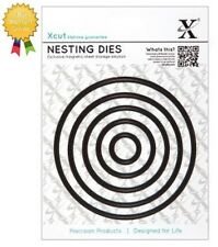 Xcut Metal Nesting Dies *CIRCLE* 5 Piece - by DoCrafts - Die Cutting - Circles
