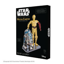 Fascinations Star Wars R2-D2 and C-3PO Metal Earth 3D Model Kit Gift Box Set