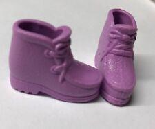 SHOES Barbie Lavender Purple Faux Laces Bridgeport Hush Puppies Hiking Boots