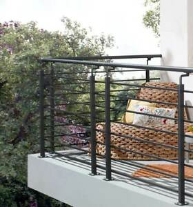 Geländersystem Vario I. Balkongeländer Stahlgeländer Systemgeländer