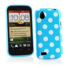 Housses et coques anti-chocs bleus pour téléphone mobile et assistant personnel (PDA) HTC