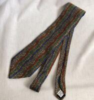Vintage Vicky Davis Men's Neck Tie Mystical 100% Silk Made in USA