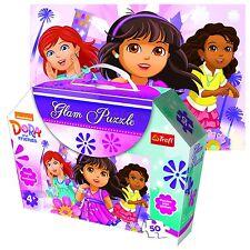 TREFL 50 pezzi GLAM GLITTER ragazze Dora & AMICI ESPLORATORE Puzzle