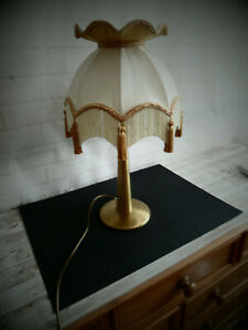 Vintage Style Table Lamp With Quality Shade