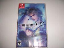 Original Box Case Insert Replacement Nintendo Switch Final Fantasy X X-2 HD