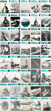 WARSHIP PROFILE BOOKS FULL COLLECTION