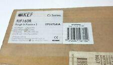 KEF RIF160R SP3476AA Rough in Frame for custom speakers - New Sealed Box of 2