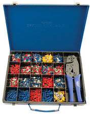 Original Textilkaufmann Experte Ratsche crimpen Werkzeug und Terminal Set 56383
