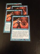 MTG MAGIC STRONGHOLD REINS OF POWER (FRENCH RENES DU POUVOIR) NM X4