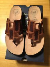 THINK EU 41 Julia Windows Sandal in Brown Cafe - Kombi - NEW