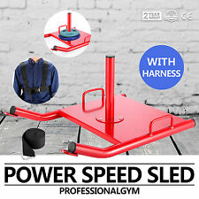 Power Resistance Strength Agility Training Sports Fitness Weight Sled Harness
