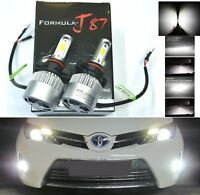 LED Kit N2 72W PS19W 12085 5201 6000K White Two Bulbs Daytime Light DRL Upgrade