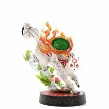 "Okami Amaterasu Standard Edition PVC Painted Statue Figure 9"" - Official Capcom"