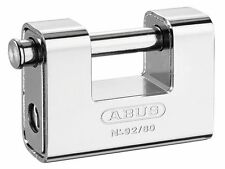 ABUS 92/65 65mm Monoblock Brass Body Shutter Padlock Keyed Ka8511