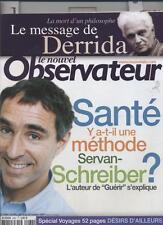 Le Nouvel Observateur   N°2084   14 Octobre 2004: Sante : y a-t-il une methode s