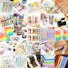 Multi Stil Washi Klebeband Masking Tape Basteln Scrapbook Papier DIY Aufkleber